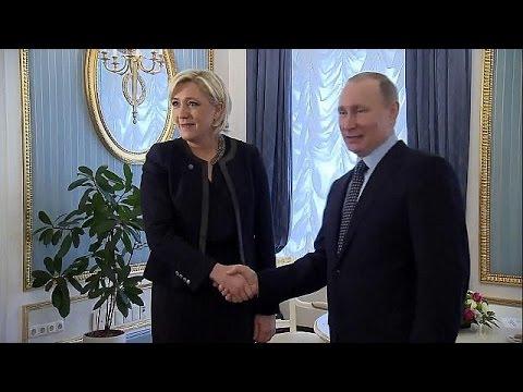 Марин Ле Пен была принята Владимиром Путиным
