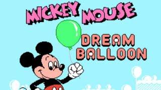 Mickey Mouse Dream Balloon - Gameplay - Kid Klown in Night Mayor World