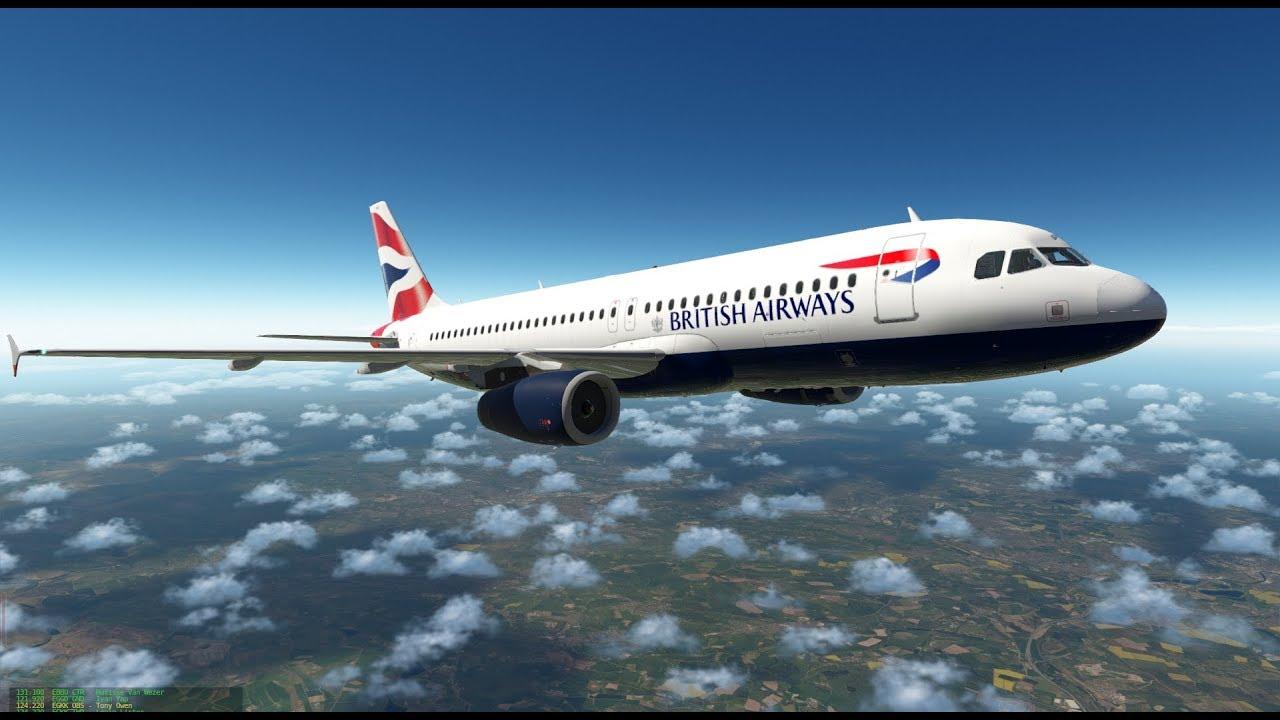 X-Plane 11 | FFA320 IAE, BSS Soundpack | EGCC - EHAM