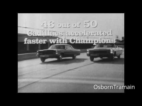 1967 Champion Spark Plug Commercial - Jackson Beck Narrator