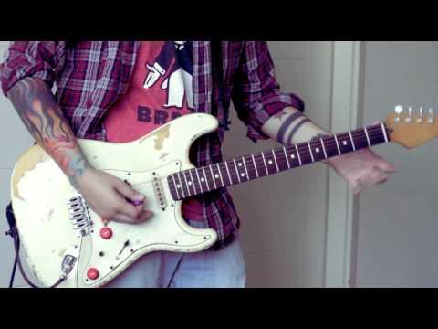 Red Hot Chili Peppers - Dani California SOLO + LESSON (Part 1)