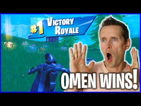 VICTORY ROYALE with OMEN!