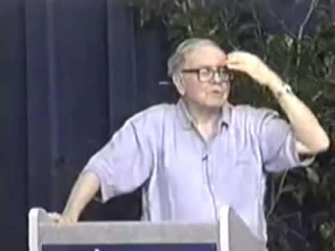 Warren Buffett at University of Florida, 1998 (9 of 10)
