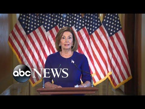 Nancy Pelosi says House will go forward with Trump impeachment inquiry