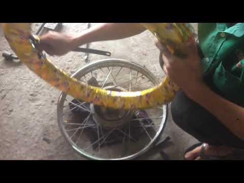 Cách Thay Lốp (vỏ) Xe Máy Phổ Thông đúng Cách