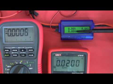 Power / Watt Meter Review: RCSky, Watt's Up, Po8er and a little surprise...