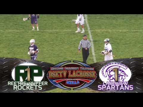 Reeths Puffer vs Lakeview   Lacrosse   5 13 16