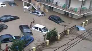 наводнение Дивноморское июль 2012