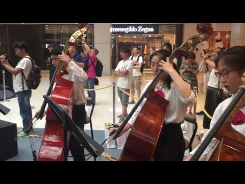 Ha ha ha Polka Charity Performance at L'Avenue  by City Shanghai Youth Symphony Orchestra Philharmon