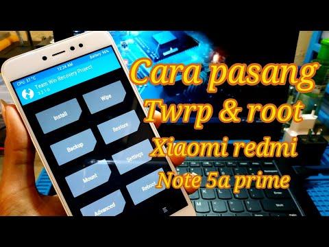 cara-install-twrp-&-root-di-xiaomi-redmi-note-5a-prime