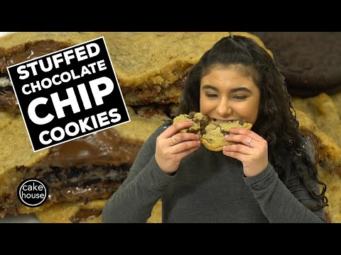 Stuffed Chocolate Chip Cookies Ranked By Cake Boss Sofia!