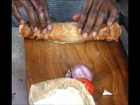 ROLEX - THE UNIQUE UGANDAN DELICACY