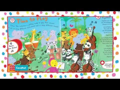 Monkey Music  - Let's Sing and Play  - Book