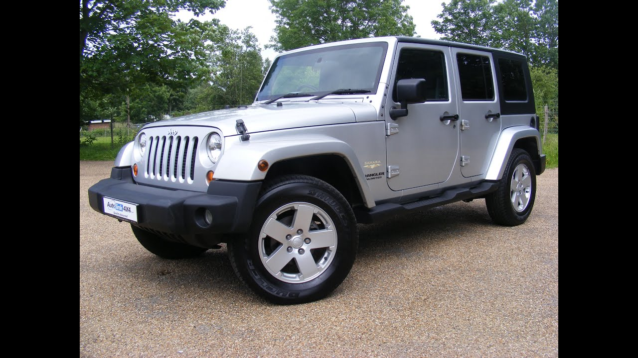 2009 Jeep Wrangler Unlimited 2.0CRD Sahara For Sale