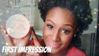 First Impression: Shea Moisture Curling Gel Souffle