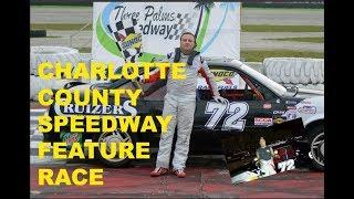 Jason Shulko feature win at Charlotte speedway