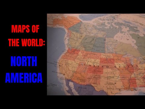 [ASMR] Maps of the World. Part 5: North America