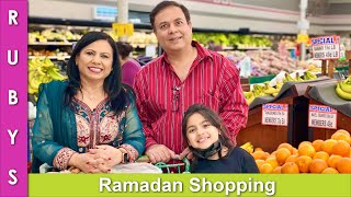 Ramadan Shopping with Hubby VLOG in Urdu Hindi - RKK