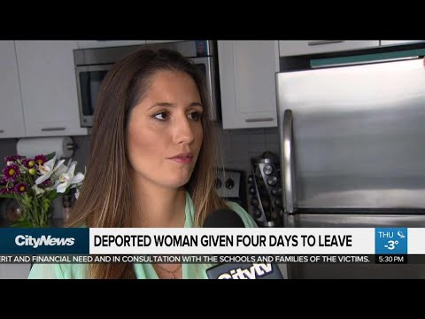 Woman ordered deported given 4 days to leave Canada