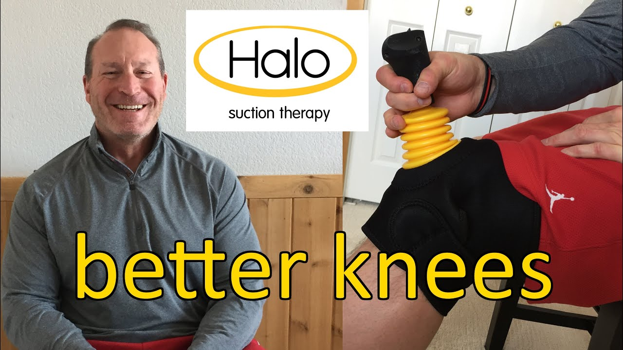 Knee Pain? Try This – Halo Suction Therapy – Testimonial – Kevin L.