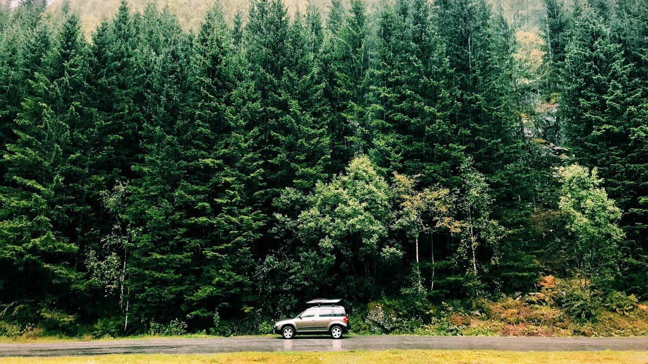 Идеальное путешествие в Норвегию на машине 2018