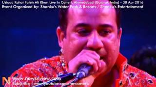 Rahat Fateh Ali Khan Concert by Shanku Entertainment Song Aas Paas Khuda