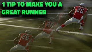 THIS TIP WILL MAKE YOU A BETTER RUNNER INSTANTLY IN MADDEN 19
