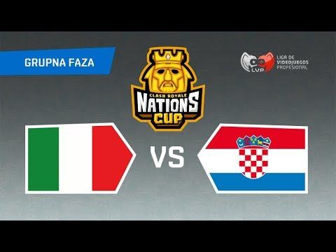 CLASH ROYALE KUP NACIJA - HRVATSKA vs ITALIJA