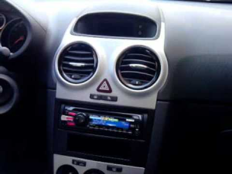 sony car radio on corsa youtube. Black Bedroom Furniture Sets. Home Design Ideas