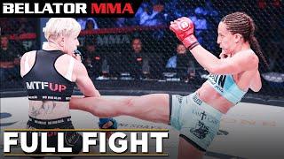 Full Fight | Julia Budd vs. Olga Rubin - Bellator 224