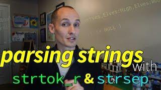 أكثر C سلسلة تحليل مع strtok_r, strsep (و strdup)