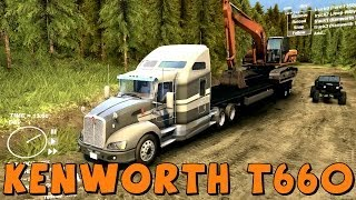 Spin Tires | Kenworth T660 | Biggest Semi Truck Yet! | Download Link In Description