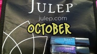 My First Julep Box  (October Unboxing) Thumbnail