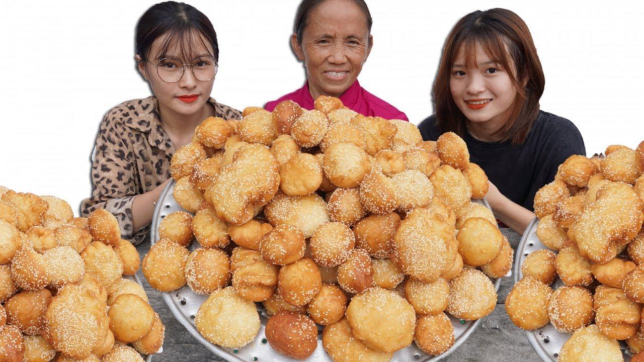Download Bà Tân Vlog - Thử Thách Làm Mâm Bánh Tiêu Siêu To Khổng Lồ Và Cái Kết