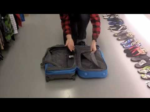 Gravis Jetway Rolling Luggage, Travel Bag - Overview