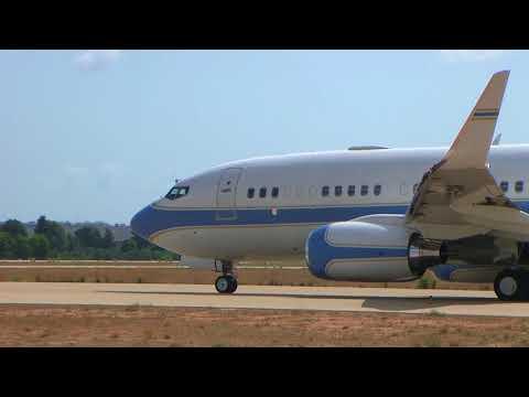VP-CAM - Boeing 737-7KK(BBJ) - Private.manises 21/08/18