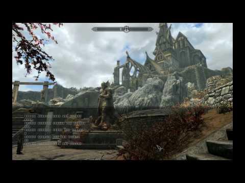 Как убрать квадраты Skyrim Special Edition