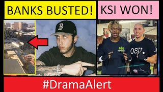 FaZe Banks Almost went to JAIL! #DramaAlert KSI Knocked out Faze Sensei!