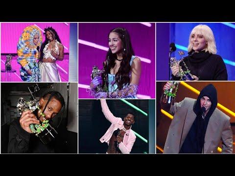 GANADORES de los Premios MTV VMAs 2021