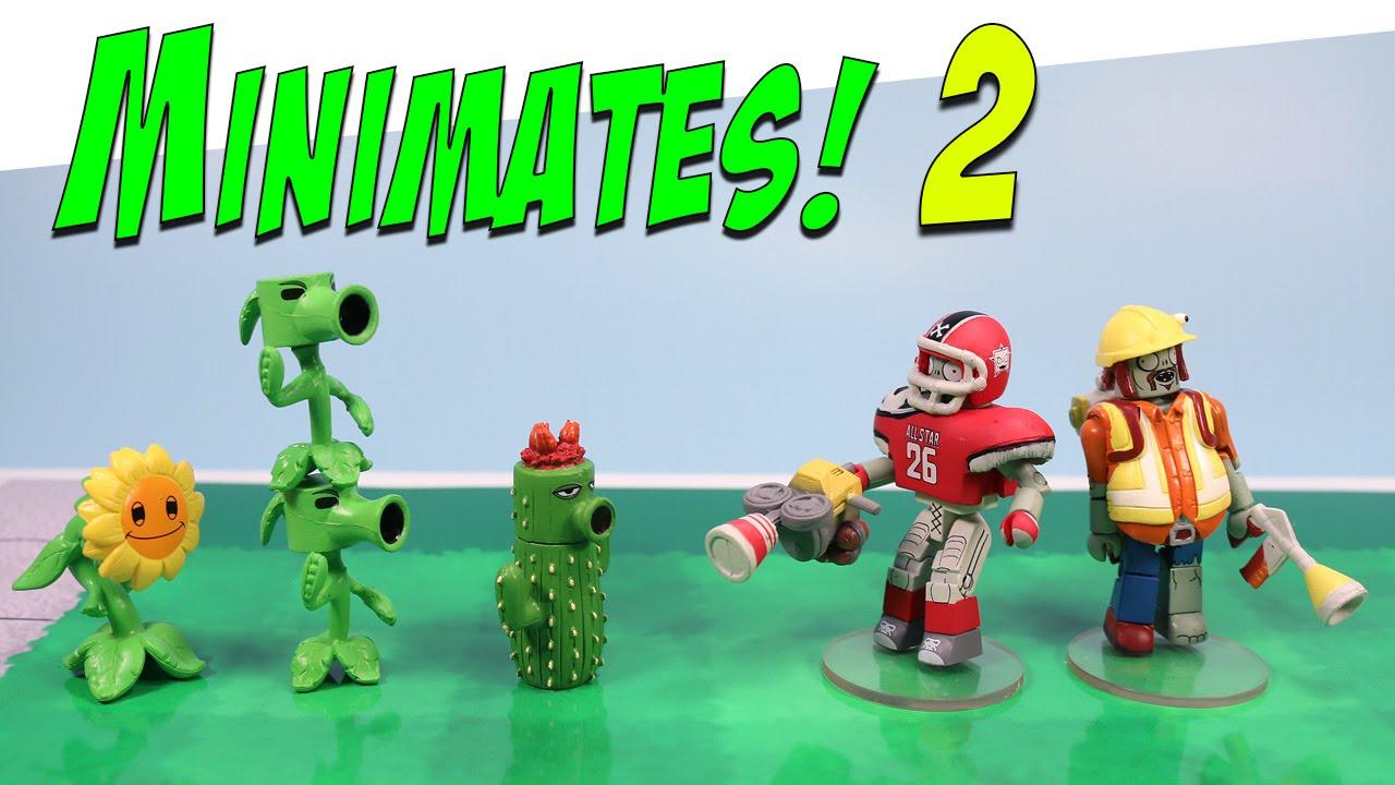 Plants vs zombies garden warfare minimates all star - Plants vs zombies garden warfare toys ...
