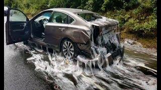 10 Accidentes de Camiones con Perdidas de Cargas Insólitas