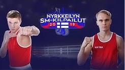 Nyrkkeilyn SM-kilpailut 2019 alkuturnaus - sunnuntai 14.4.