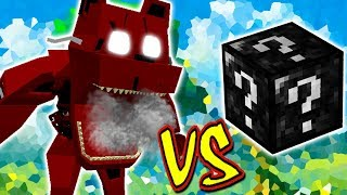 HORROR FREDDY VS. SUPER LUCKY BLOCK (MINECRAFT LUCKY BLOCK CHALLENGE FNAF)