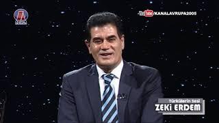 Türkülerin Sesi - Zeki Erdem 06.03.2018    Kanal Avrupa