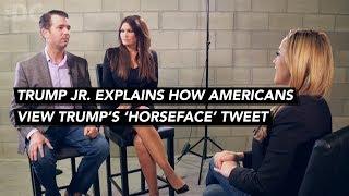 Donald Trump Jr. Breaks Silence On 'HorseFace'