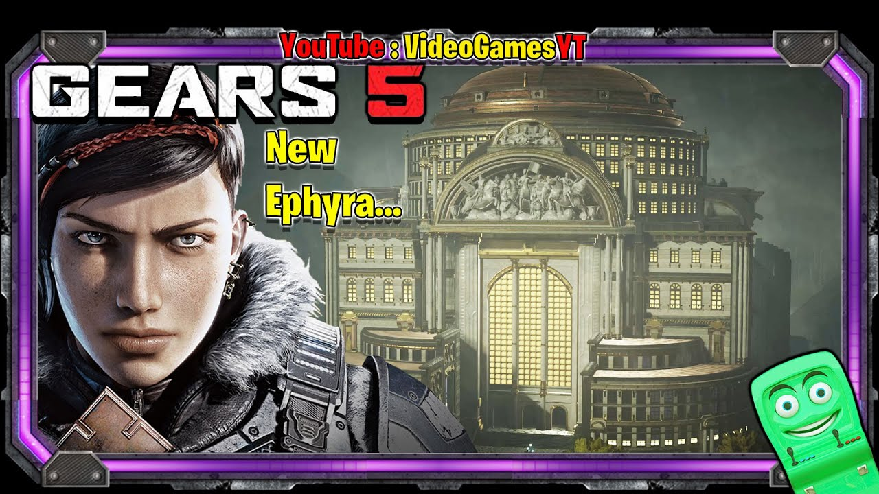 GEARS 5 - New Ephyra - Gameplay part 44 | Video Games