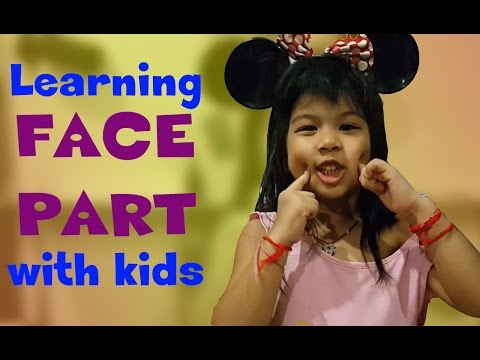Learning the face parts with kid