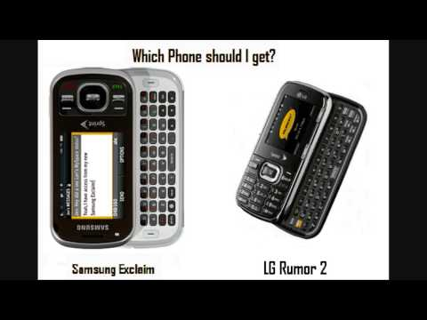Help me decide on Phone.