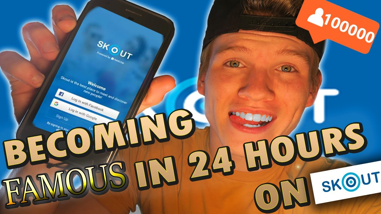 Becoming Famous in 24 Hours on Skout ?!?!?! LIVE STREAMING
