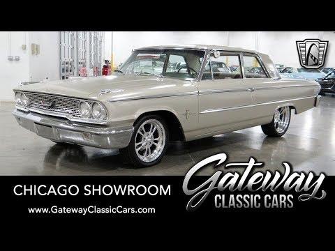 1963 Ford Galaxie - Gateway Classic Cars #1691 Chicago
